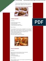 Receita Especial Festa Junina - Coquinho Queimado, Paçoca de Amendoim e Pamonha