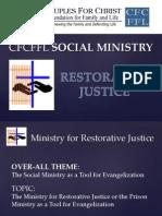 Prison Ministry of CFC FFL