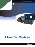 Infocus LP70 Reference Guide Es