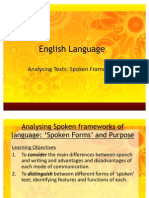 1.Speech vs Writing