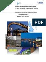 Data Standards Programme July2011