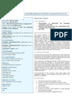 STFC NCD - Issue Snapshot