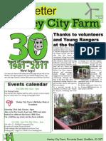 HCF Newsletter Issue 3 Summer 2011