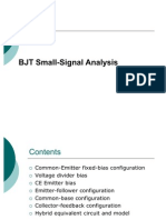 BJT Small Signal
