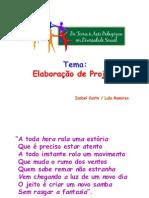 Apresentação Elaboração de projeto - Isabel Costa
