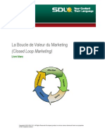 La Boucle de Valeur Du Marketing