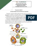 Dos Procariontes Aos Eucariontes