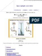 Bomba Manual de PVC