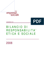Bilancio Sociale Consorzio Sis Milano 2008