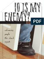 Who Is My Enemy? by Rich Nathan, Excerpt