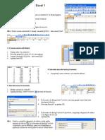 Lab Excel 1