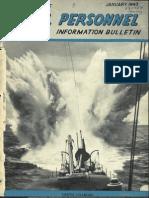 All Hands Naval Bulletin - Jan 1943