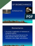 Basics of Bio Mechanics Nsr
