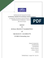 RPM Agarbatti Marketing Report Final[1]