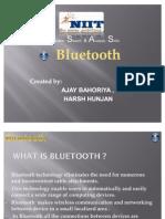 Bluetooth Presentation Send by Ajay in Niit