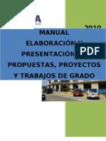 Manual Elboracion Presentacion Prop Proy Trab Grado 2010