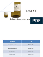robert mondavi and the wine industry case analysis Free essay: robert mondavi and the wine industry analysis executive summary the robert mondavi winery became one of america's most innovative, high-quality.
