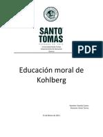 Educacion Moral de Kohlberg