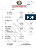 East Midlands Speakers draft programme for 4th July 2011