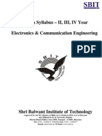 B.tech MDU Syllabus ECE