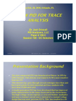 A New PID for Trace Analysis PC2010a