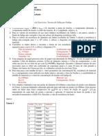 Lista de Exercícios-Teorias de Falha por Fadiga