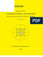 Combinatorial Geometry with Applications to Field Theory, Second Edition, graduate textbook in mathematics, by Linfan Mao