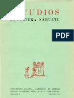 Estudios de Cultura Náhuatl 2