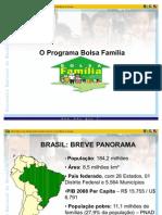 Panorama Geral Do Programa Bolsa Familia Atual