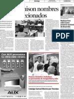 26-06-2001 Realizan Foro Sobre Nuevo Proyecto Nacional de Desarrollo