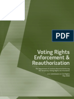 Voting Rights Act Redistricting Report