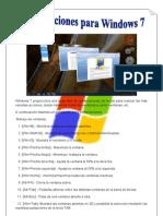 Combinaciones Para Windows 7