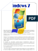 Caracteristicas de Windows 7