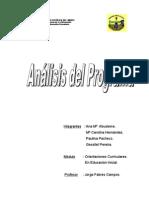 analisis del programa