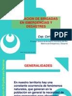 Formación de Brigadas en Emergencias y Desastres