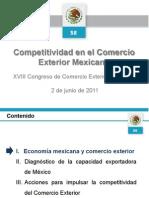 """Presentación del XVIII Congreso Comce-Puebla """"Competitividad en el Comercio"""" por el Ing. José Antonio Torre"""