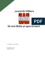 Gerard de Villiers - Sa Vezi Malta Si Apoi Sa Mori