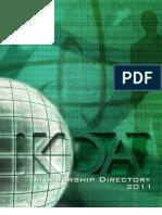 KDA Membership Directory Online