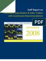 CFTC Report September 2008