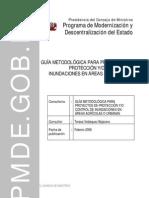 Guia Metodológica Proy de Proteccion y_o Control de Inundaciones