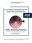 Local Online Marketing Tips for South African Businesses