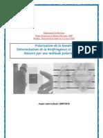 Polarisation de la lumière biréfringence et dichroisme