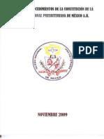 Manual Procedimientos Constitucion