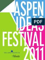Aspen Ideas Festival Schedule