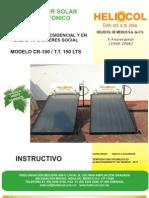 Manual de Usuario Modelo Cr100