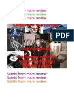 Sands From Mars New Edition2