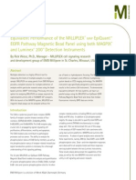 Equivalent Performance of the MILLIPLEX® map EpiQuant™ EGFR Pathway Magnetic Bead Panel using both MAGPIX®   and Luminex® 200™ Detection Instruments