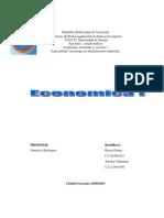 Trabajo de Economia 1 Seccion 1