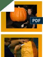 Crazy Pumpkin Art by Ray Villafane
