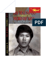 Tin Maung Oo ~ a Forgotten Hero of Asia - By U Aung Htoo - Burmese
